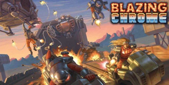 Blazing Chrome Review (Nintendo Switch) - Pixelated Gamer