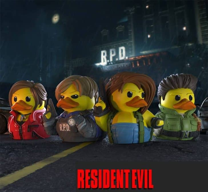 TUBBZ Resident Evil Cosplaying Duck Collectible Review